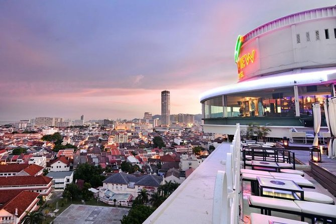 Penang 360 Revolving Restaurant Buffet Dinner & Avatar Gardens Private Tour