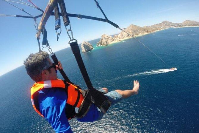 Parasailing in Cabo San Lucas