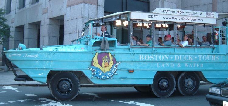 波士頓水鴨車旅遊1