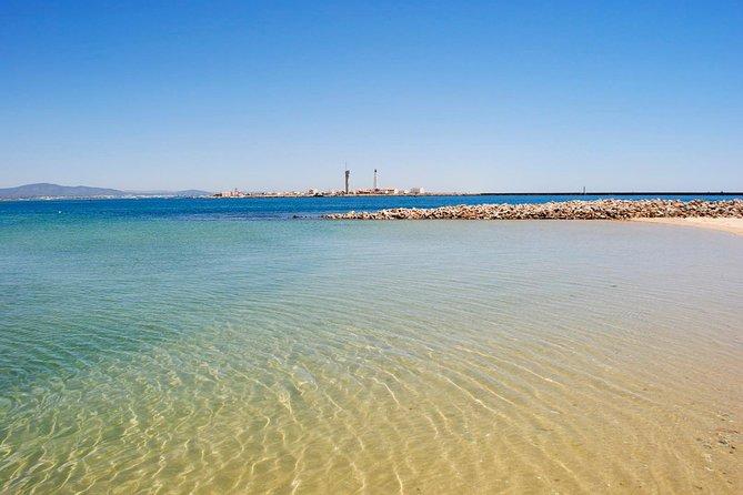 Ilha Deserta and Farol Island: a small group boat trip in Ria Formosa from Faro
