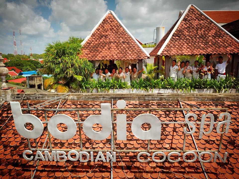 柬埔寨連鎖bodia spa (暹粒和金邊地區三店通用)