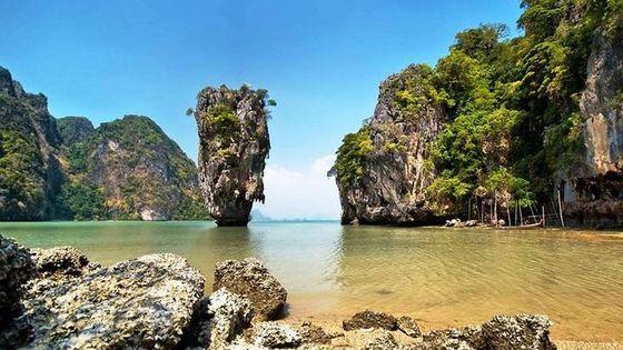 James Bond Island Canoeing 7 Point 5 Island By Speedboat From Phuket
