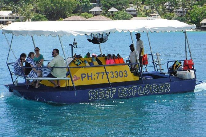 1.5-hour Glass Bottom Semi-Sub Port Vila Snorkel Tour