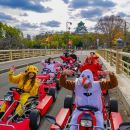 Street Osaka GoKart Tour with Funny Costume Rental