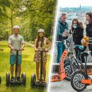 Prague Highlights Segway & E-Scooter Tour with Free Taxi Pick Up