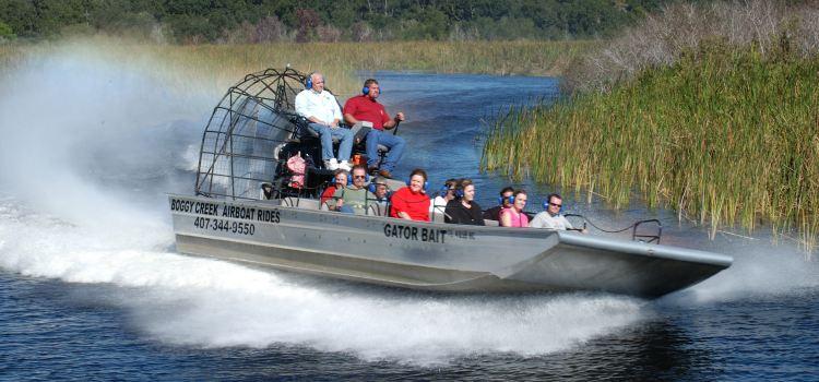 Boggy Creek Airboat Adventures Travel Guidebook Must Visit
