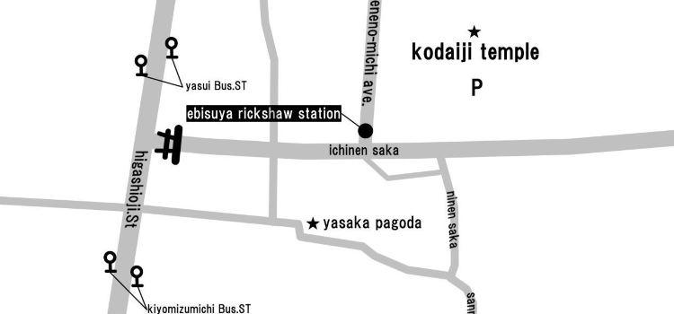 惠比壽屋人力觀光車 京都東山店1