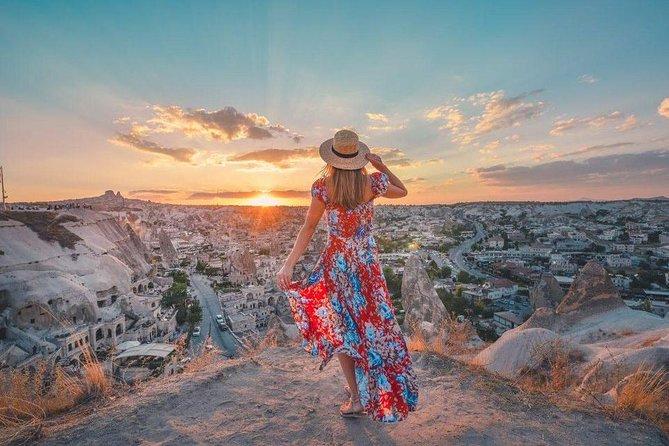 Cappadocia Green Tour Including Red & Rose Valleys of Cappadocia