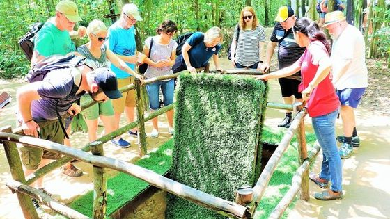 Cu Chi Tunnels Small Group Tour from Ho Chi Minh City