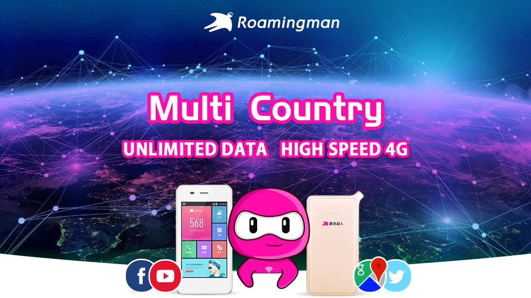 [Unlimited Data] 4G WiFi for 136 Destinations Worldwide (Kuala Lumpur Pickup)