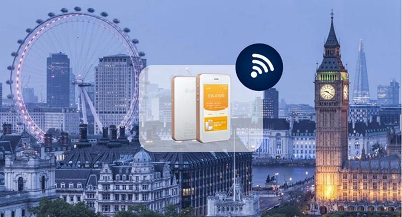 歐洲41國 | 桔豐WIFI上網分享器+每日500M高速(機場自取)