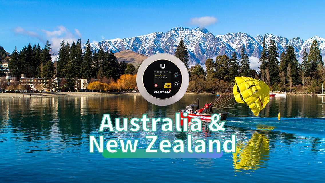 4G WiFi for Autralia & New Zealand (Hong Kong Pickup) [Unlimited Data]