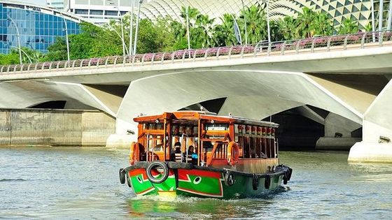 3-Day Singapore City Pass with Singapore River Boat Tour