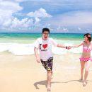 布吉為愛出發-陽光沙灘情侶寫真