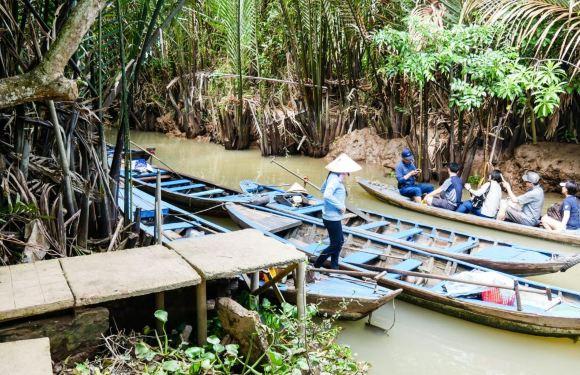 【湄公河一日遊】越南美托搖船體驗一日遊(胡志明市出發)