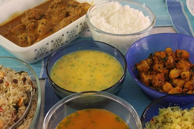South Indian Meal at a Local Home in Bangalore