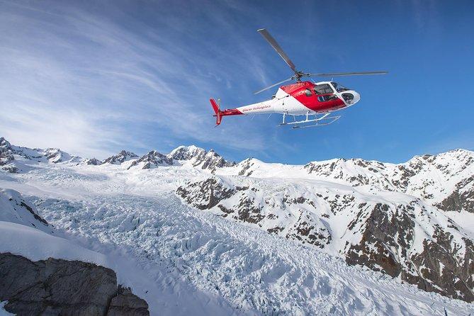 Fox and Franz Josef Twin Glacier Helicopter Flight from Fox Glacier