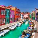 Morning Venice Lagoon Cruise: Murano Island and Burano Island