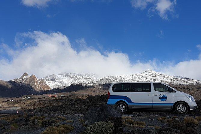 Taupo Tour - National Park Gondola - Mt Ruapehu, Tongariro and Ngauruhoe