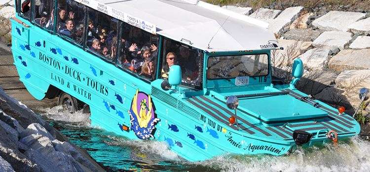波士頓水鴨車旅遊3