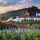 Half Day Phra That Doi Kham Temple and Royal Park Rajapruek (Private Tour)