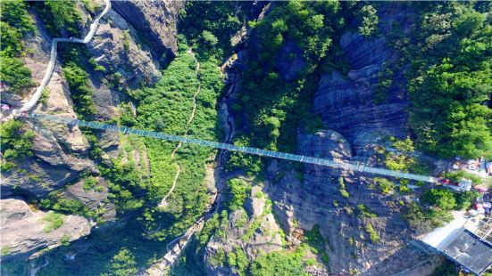 Glass Bridge Scenic Area of Shiniuzhai
