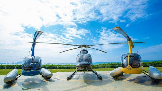 三亞灣直升飛機體驗