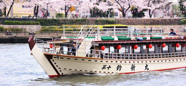 Tokyo Bay Yakatabune Boat3