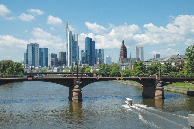 2-Hour Frankfurt City Tour by Open-Top Bus