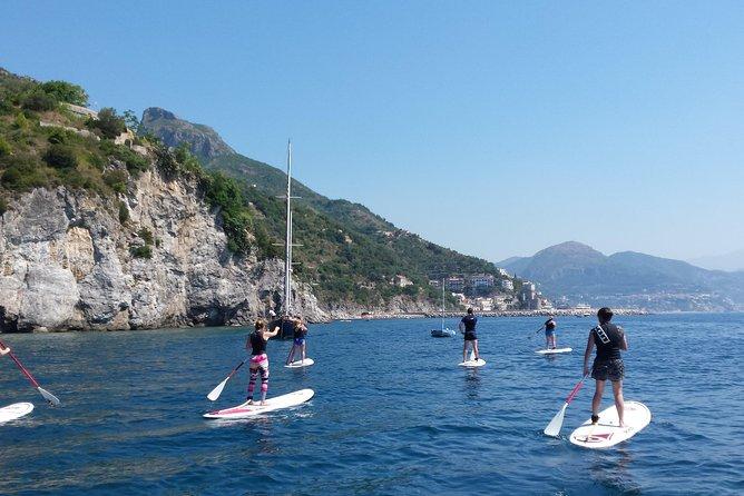 Stand Up Paddle guided tour through Amalfi Coast