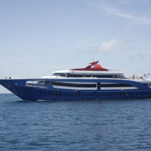 普吉島皮皮島輕奢游輪大船一日遊(船公司:Andaman Wave)