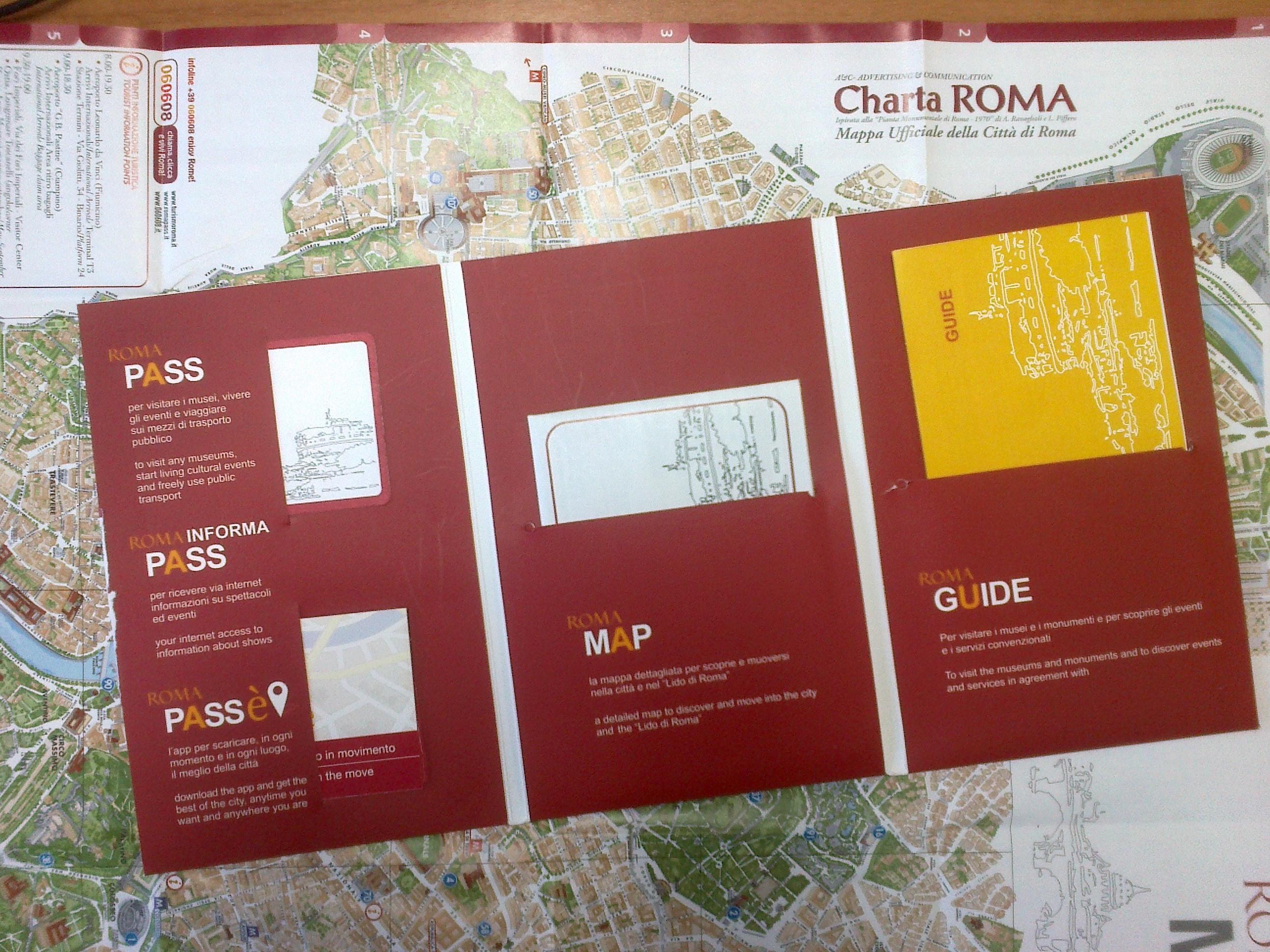 羅馬城市通票 Roma Pass(48/72小時可選)