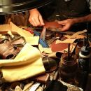 Historical and Precious Leathers Guided Tour in Milan