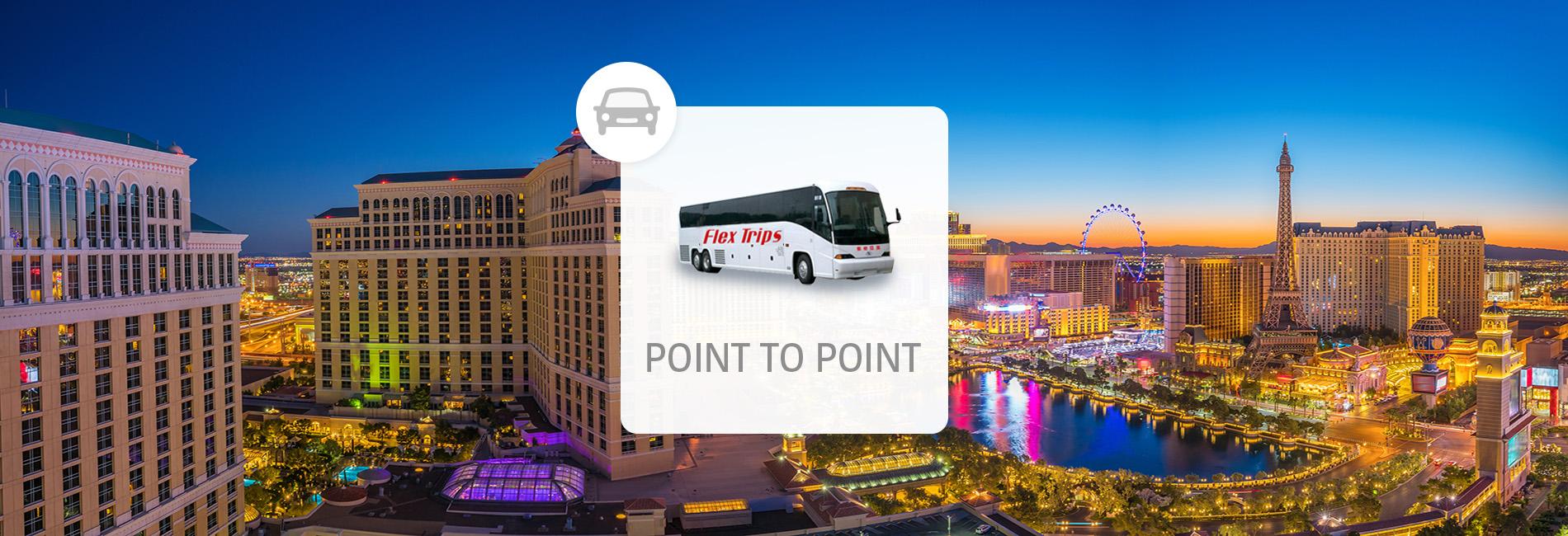 ロサンゼルス発 - ラスベガス行き 長距離バス乗車チケット|毎日運行