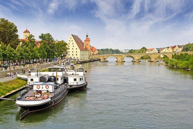 Prague to Vilshofen via Regensburg - private transfer with a tour of Regensburg