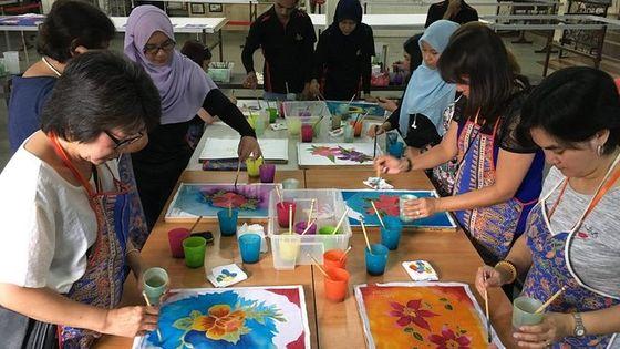 Malaysian Batik Experience-Handkerchief