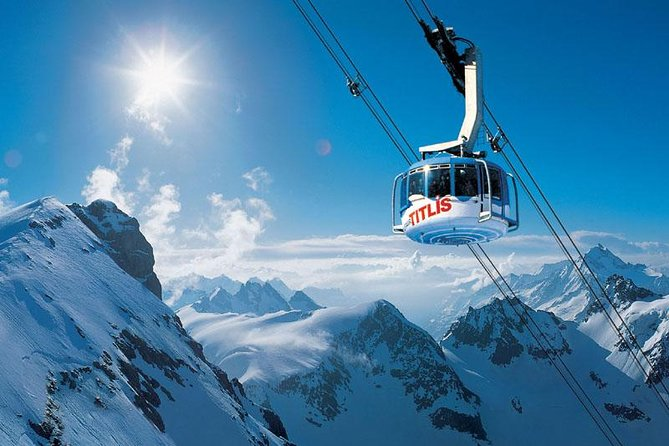 Titlis glacier world day tour with private guide - from Basel