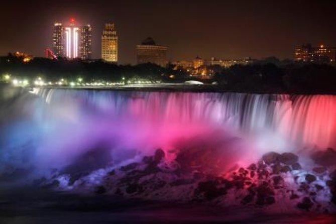 Niagara Falls Evening Lights Day Trip from Toronto