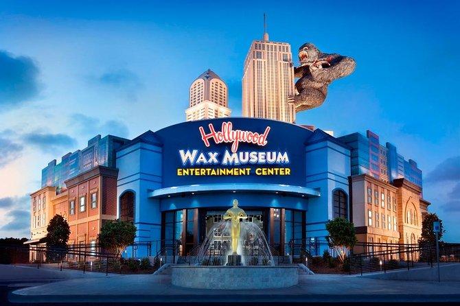 Hollywood Wax Museum Entertainment Center All- Access Pass Myrtle Beach