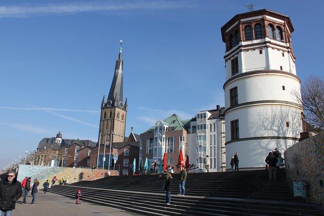 Top 10 attractions walking tour of Dusseldorf