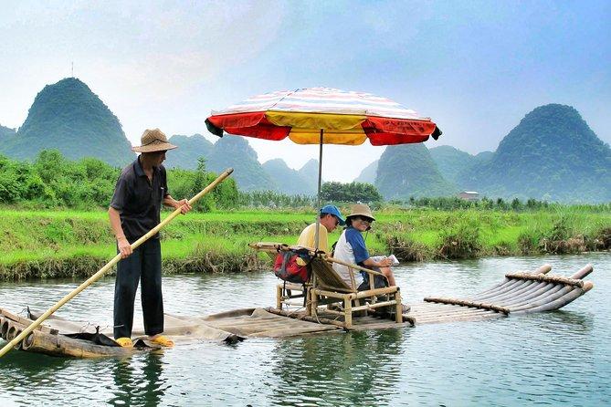 Yangshuo Bike & Bamboo Rafting 1 Day Tour