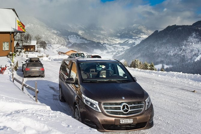Private transfer from Zurich Airport to Andermatt