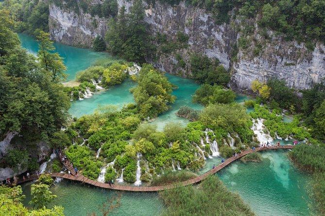 Split Super Saver: Diocletian's Palace Walking Tour plus Plitvice Lakes Day Trip