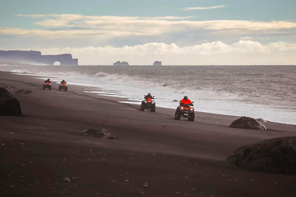 【冰島越野探險】南海岸瀑布冰川一日遊+ATV 體驗