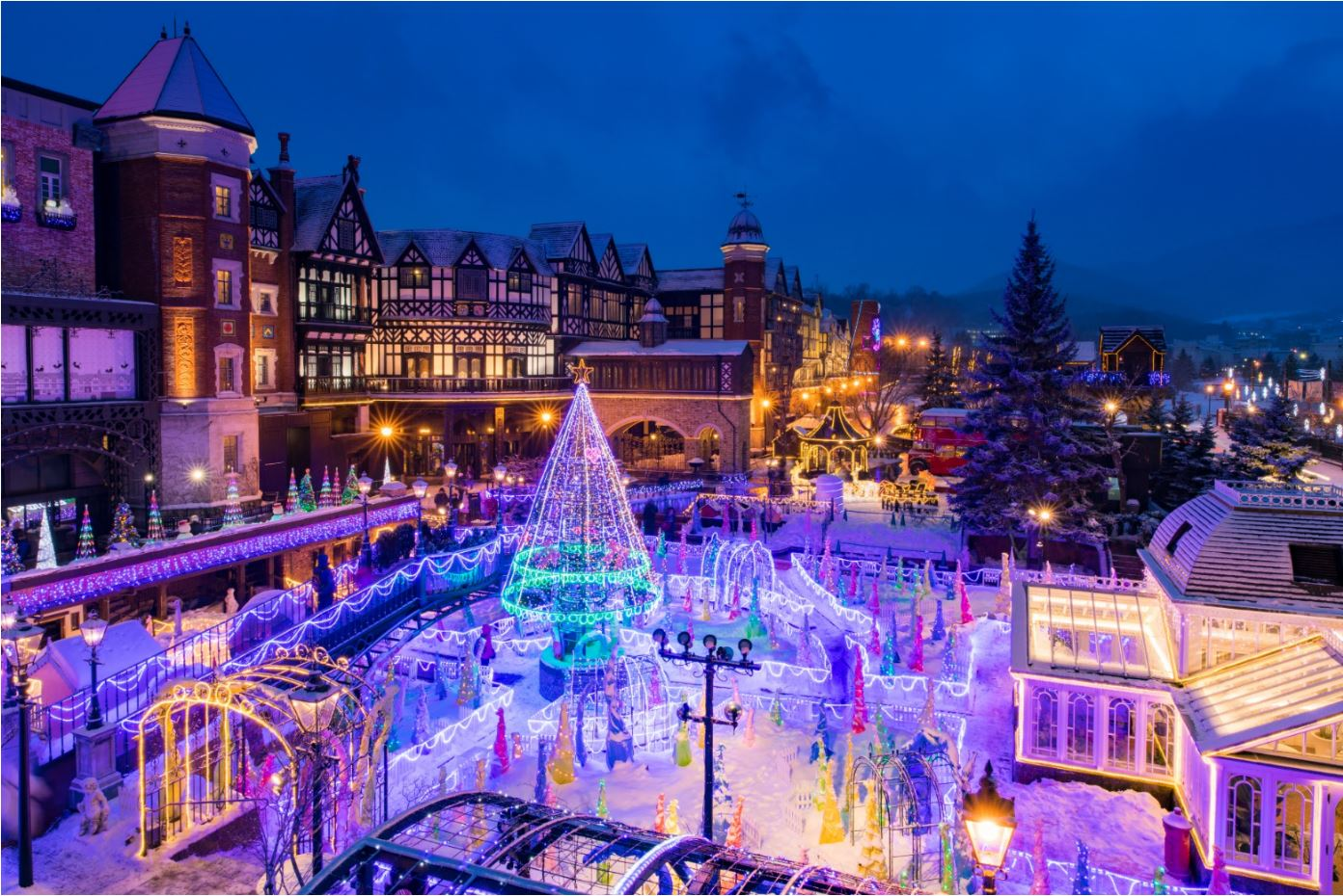 札幌出發 小樽運河+余市蒸餾館+白色戀人公園點燈冬季一日游