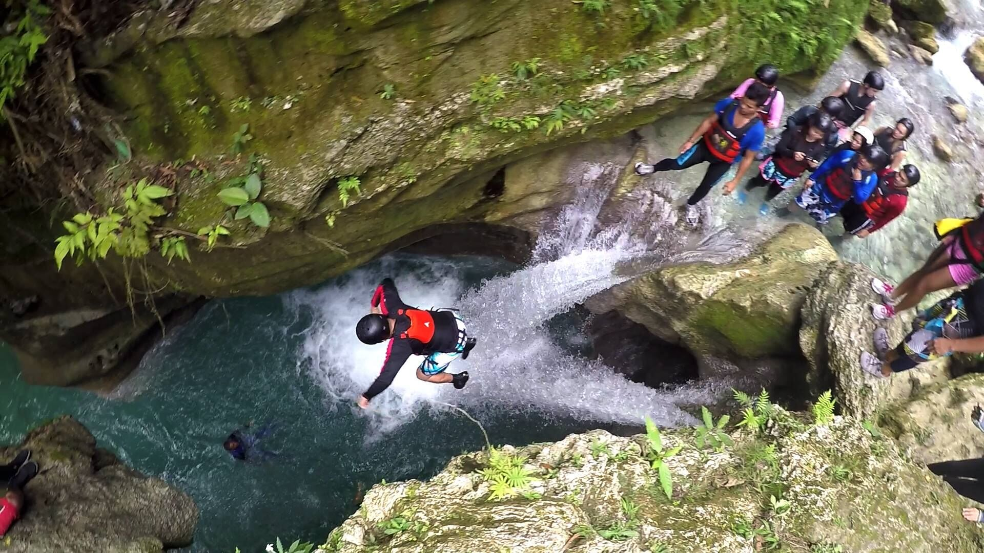 Badian Canyoneering Adventure Private Tour