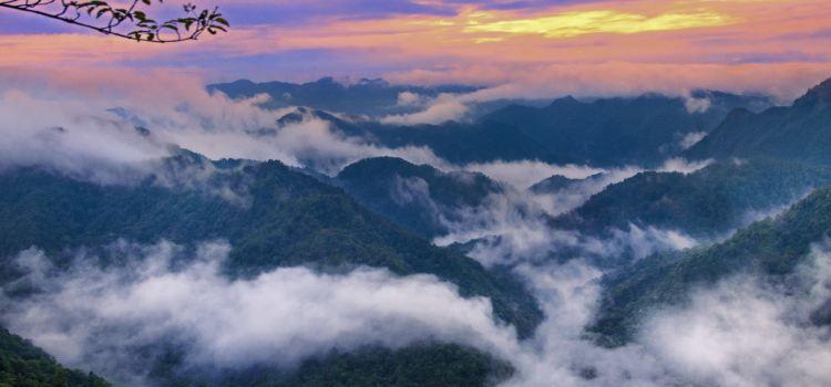 Sanbaishan Mountain Scenic Area3