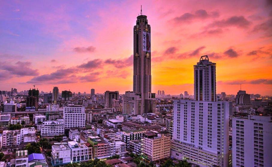 방콕 바이욕 스카이 뷔페 식사권