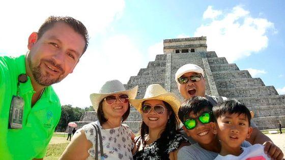 Private Tour: Chichen Itza Arqueological Zone from Cancun
