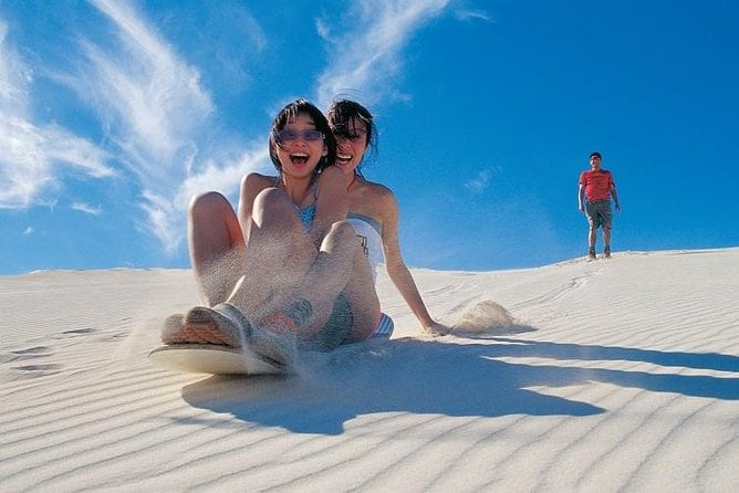 Full Day Pinnacle Desert Explorer from Perth Including Hillarys and Lancelin Sandboarding